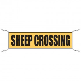 Stock Crossing Sign - Sheep Crossing