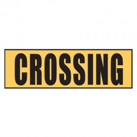 Stock Crossing Sign - Crossing