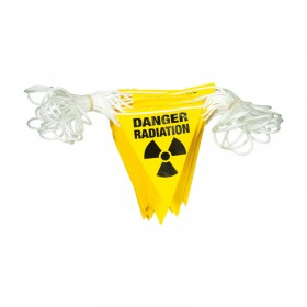 Danger Radiation Bunting 30m