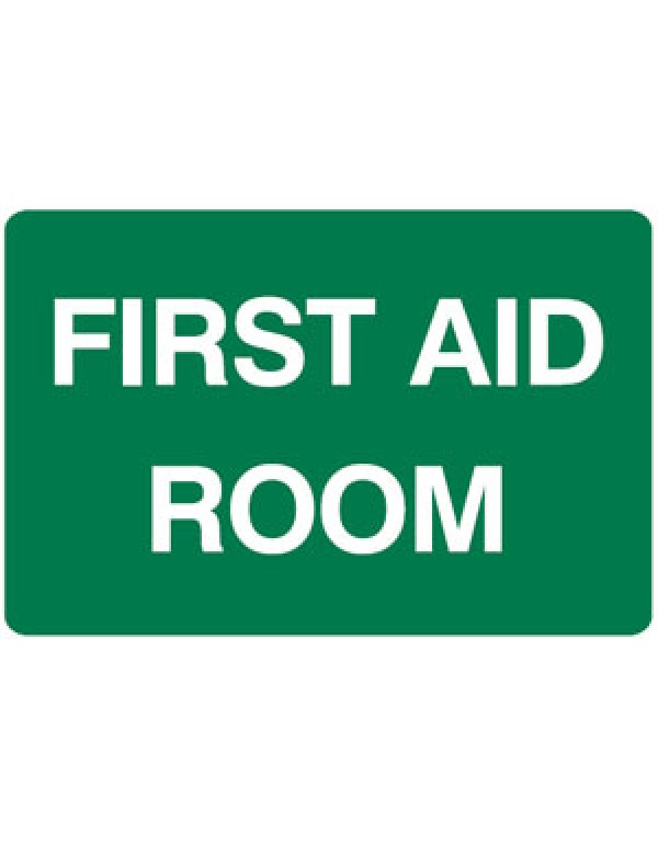 First Aid Station Metal Sign