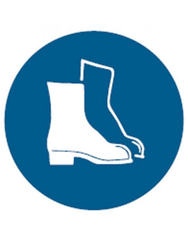 Foot Protection Picto Sign