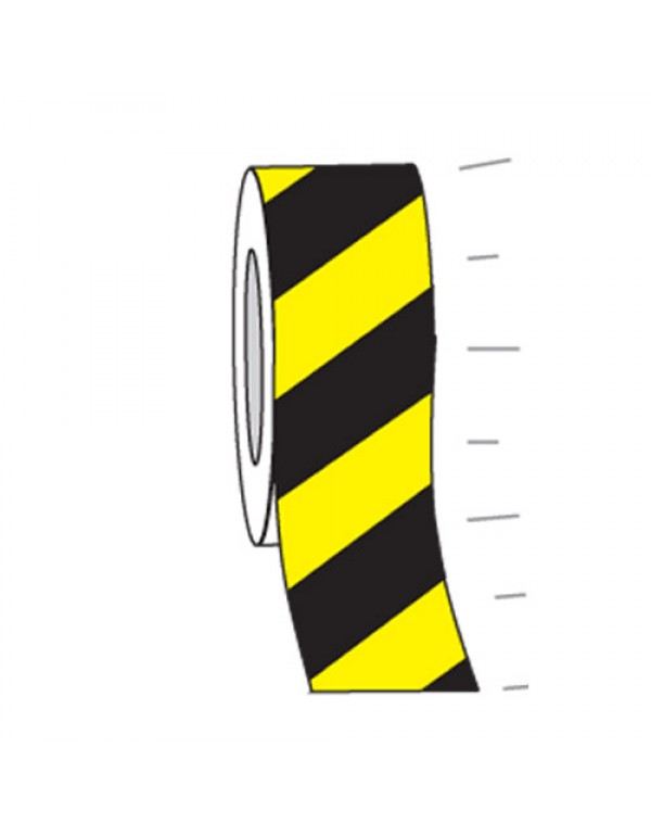 High Intensity Exterior Tape Black/Yellow