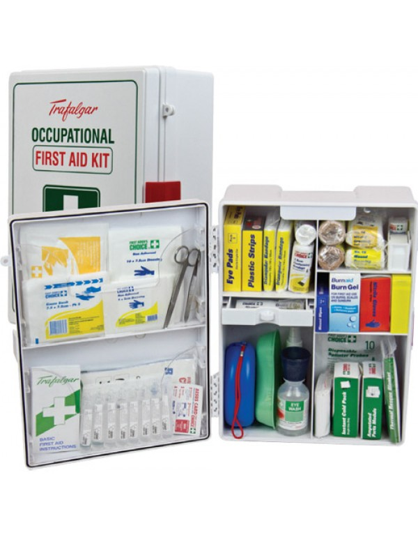 TFA National Workplace First Aid ABS Wall Mount Kit