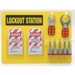 5-Lock Board with Padlocks