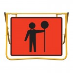 Traffic Controller and Stand Kit, 900 x 600mm
