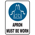 Apron Picto Apron Must Be Worn Sign