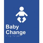 Braille Sign - Baby Change