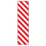 Bounce-Back Sign Red/White Stripe