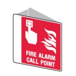 Call Point Picto Fire Alarm Call Point Sign Polypropylene - H225mm x W225mm