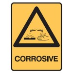Corrosive Picto Corrosive Sign