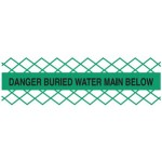 Detectable Mesh Tape - Danger Water Main Below