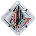 Dangerous Goods Multi Flip Placard