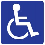 Disabled Person Picto Sign