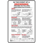 Drowning Procedure First Aid Sign