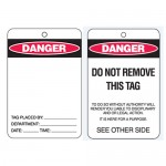 Economy Lockout Tags - Blank Danger