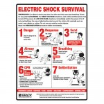 Electric Shock Survival First Aid Sign