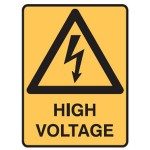Electrical Picto High Voltage Sign