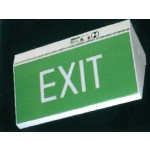 Exit Sign Polycarbonate (Illuminescent) - H235mm x W383mm