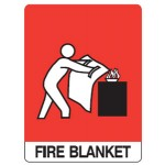 Fire Blanket Picto Fire Blanket Sign