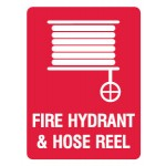 Fire Hydrant Hose & Reel Sign