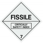 Fissile Class 7 Sign