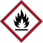 GHS Flame Label