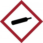 GHS Gas Cylinder Label