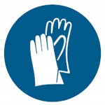 Hand Protection Picto Sign