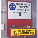 Hearing & Eye Ppe Equipment Station