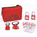Lockout Belt Pouch - Red