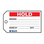 Material Control Tag - Hold Material Control Tags