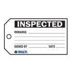 Material Control Tag - Inspected Material Control Tags