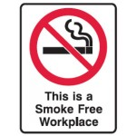 No Smoking Picto This Is A Smoke Free Workplace Sign