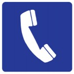 Phone Handset Picto Sign