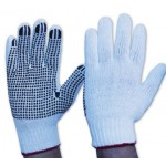 Polycotton Mens Gloves with Grip