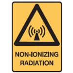 Radiation Picto Non-Ionizing Radiation Sign Metal - H300mm x W450mm