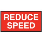 Reduce Speed Sign 1500x750 Be Ref Metal
