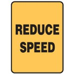 Reduce Speed Sign 450x600 Ref Metal