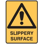 Safety Alert Picto Slippery Surface Sign