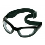 Safety Glasses w/ Arms & Strap