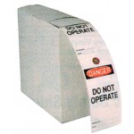 Safety TagS - Do not Operate