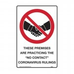 Prohibition Sign COVID Rulings