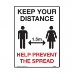 Keep Your Distance Help Prevent The Spread