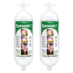 2 Replacement Eyewash Bottles