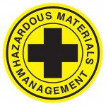 Hard Hat Label - Hazardous Materials Management