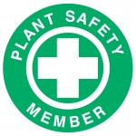 Hard Hat Label - Plant Safety Member