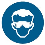 Safety Goggles Picto Sign