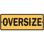 Oversize Sign Hinged