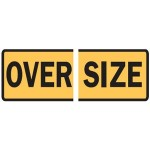 Oversize Sign Vertical Split
