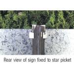 Star Picket 1.8M Black